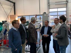 11.02.21019: CDU Haan besucht EDUARD KRONENBERG GmbH