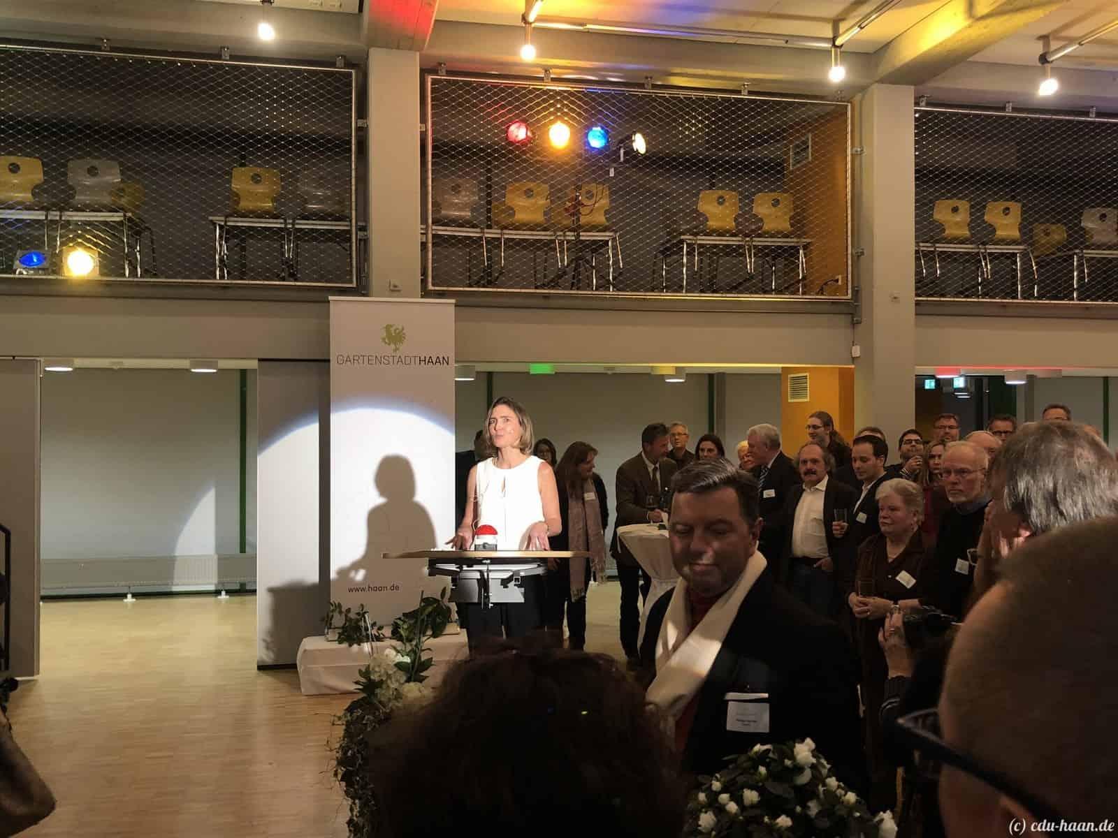 Bürgermeisterin Dr. Bettina Warnecke Neujahrsempfang