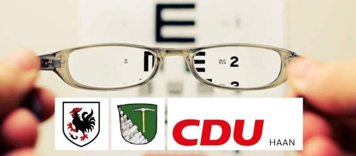 Stellungnahme CDU HAAN, GRUITEN STADTVERBAND